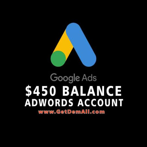 approved adwords account