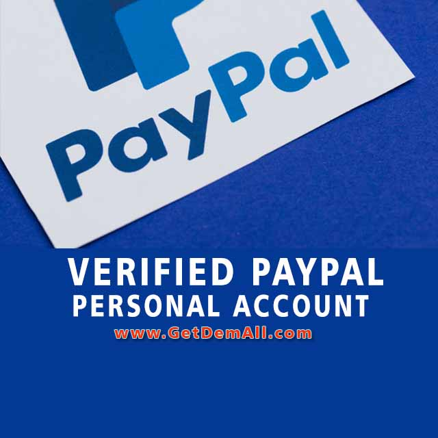 paypal account personal